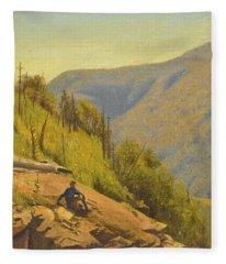 Summer In The Hills 2 Fleece Blanket