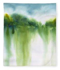 Summer Landscape 3 Fleece Blanket