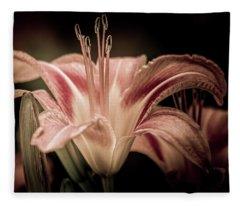 Summer Lily Fleece Blanket