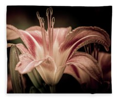 Summer Lily Fleece Blanket