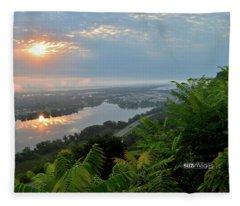 Summer Love Fleece Blanket