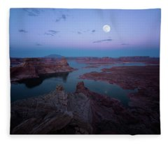 Summer Night Fleece Blanket