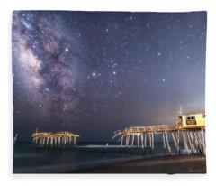 Summer Nights Fleece Blanket