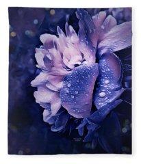 Summer Rain Fleece Blanket