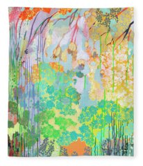 Summer Rain Part 2 Fleece Blanket
