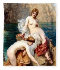 Summer Seas 1912 Fleece Blanket