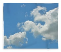 Summer Sky Fleece Blanket