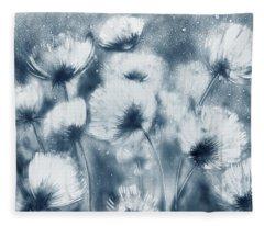 Summer Snow Fleece Blanket