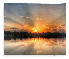 Summer Sunrise 2 - 2019 Fleece Blanket