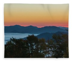 Summer Sunrise - Almost Dawn Fleece Blanket