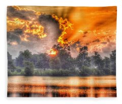 Summer Sunrise Number 1 - 2019 Fleece Blanket