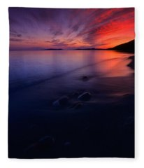 Summer Sunset       Fleece Blanket