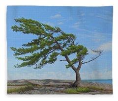 Summer Wind Fleece Blanket