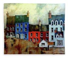 Summercove, Kinsale, West Cork. Fleece Blanket