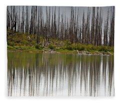 Summit Lake Fleece Blanket