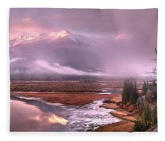 Sun Dance Fleece Blanket