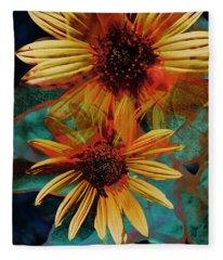 Sun Godess Fleece Blanket