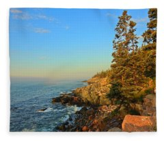 Sun-kissed Coast Fleece Blanket