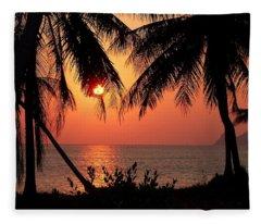 Sun Kissed Fleece Blanket