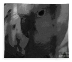 Sun Parakeet  Fleece Blanket