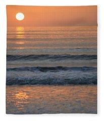 Sun Star Fleece Blanket