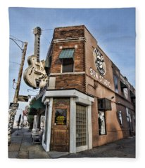 Sun Studio - Memphis #1 Fleece Blanket
