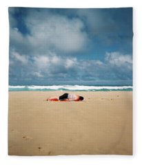 Sunbather Fleece Blanket