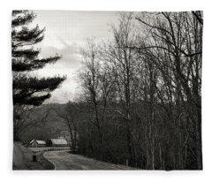 Sunday Drive Fleece Blanket
