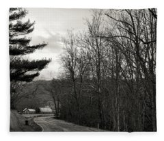 Sunday Drive Fleece Blanket