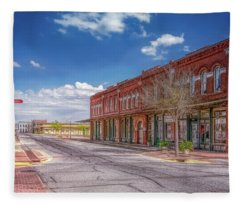 Sunday In Brenham, Texas Fleece Blanket