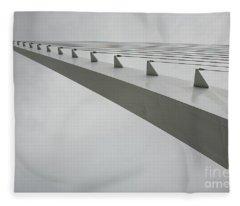 Sundial Perspective Fleece Blanket