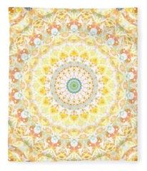 Mandalas Fleece Blankets