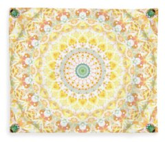 Mandalas Fleece Blankets