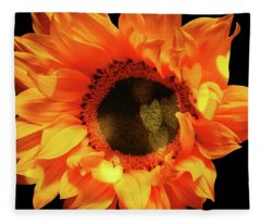 Sunflower Passion Fleece Blanket