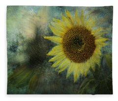 Sunflower Sea Fleece Blanket