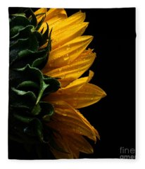 Sunflower Series IIi Fleece Blanket