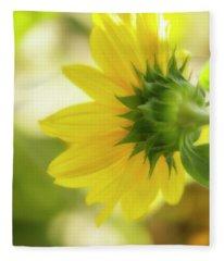 Sunflower Sweet Fleece Blanket