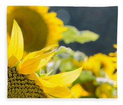Sunflowers 14 Fleece Blanket