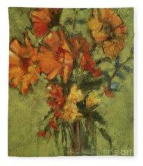 Sunflowers For Sunday Fleece Blanket