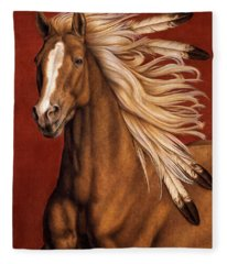 Sunhorse Fleece Blanket