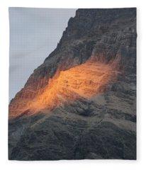 Sunlight Mountain Fleece Blanket