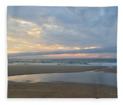 Sunrise At Loggerhead Fleece Blanket