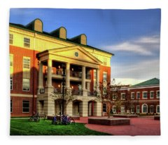 Sunrise At Western Carolina University Fleece Blanket