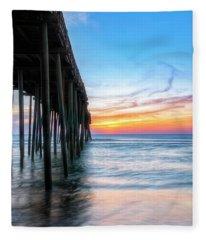 Sunrise Blessing Fleece Blanket