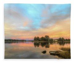Sunrise, From The West Fleece Blanket