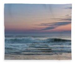 Sunrise Hunter Fleece Blanket