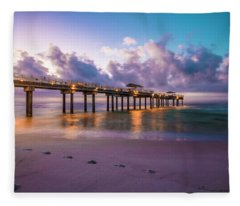 Sunrise In Alabama  Fleece Blanket