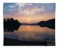 Sunrise Morning Bliss 152b Fleece Blanket