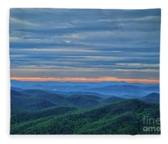 Sunrise On The Parkway Fleece Blanket