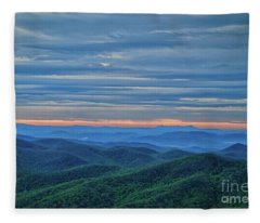 Sunrise On The Parkway Fleece Blanket